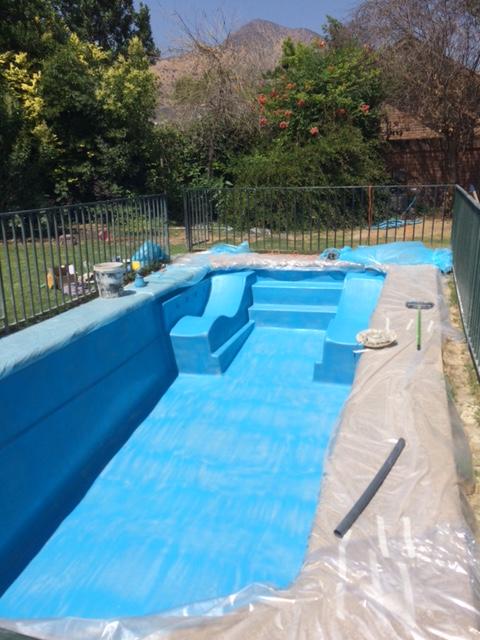 Pintura para piscinas de fibra de vidrio for Albercas economicas